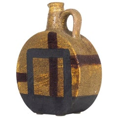 Aldo Londi Midcentury Ceramic Pitcher Vase for Bitossi, 1950s