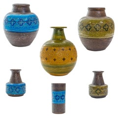 Aldo Longhi Ceramic Collection from Bitossi, Italy, 1960s