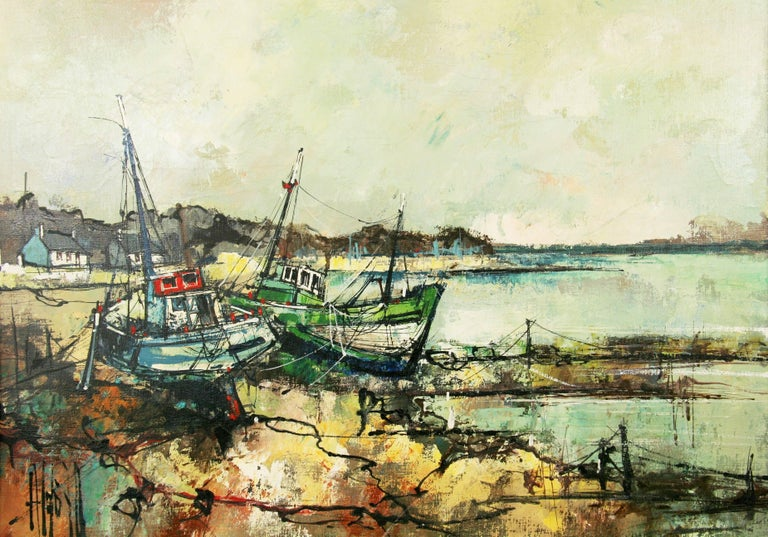 Seascape by A.Luongo - Painting by Aldo Luongo