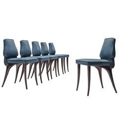 Aldo Morbelli Set of Six Dining Chairs