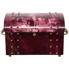 Aldo Tura Parchment Covered Jewelry Box
