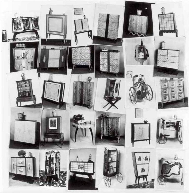 Aldo Tura Rolling Bar Cabinet For Sale 12