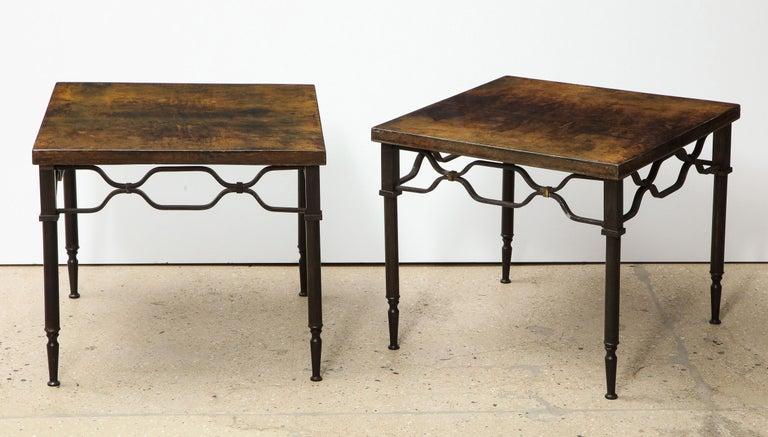 Italian Aldo Tura Side Tables For Sale