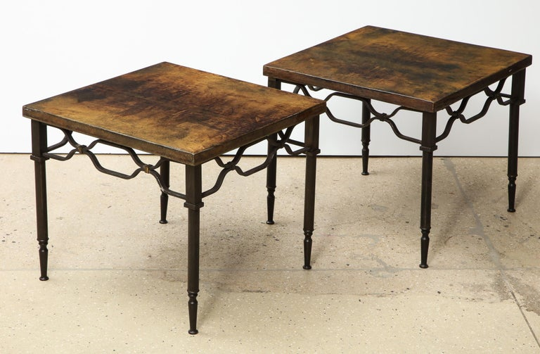 Aldo Tura Side Tables In Good Condition For Sale In New York, NY