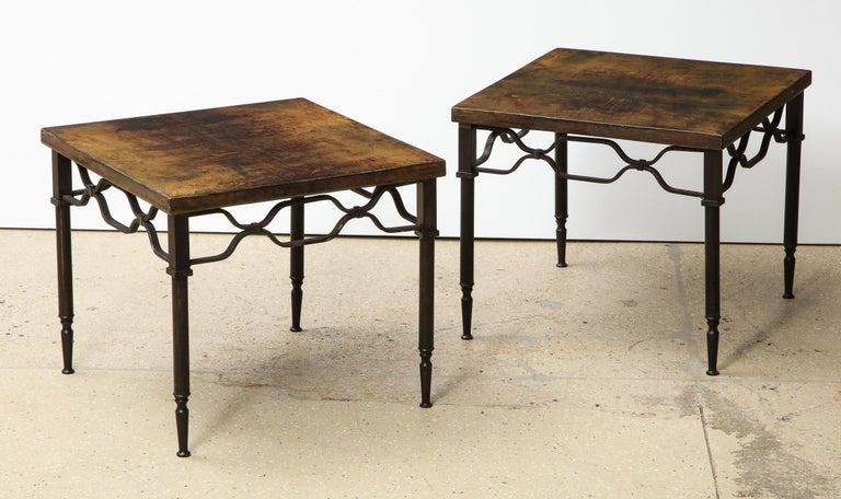 20th Century Aldo Tura Side Tables For Sale