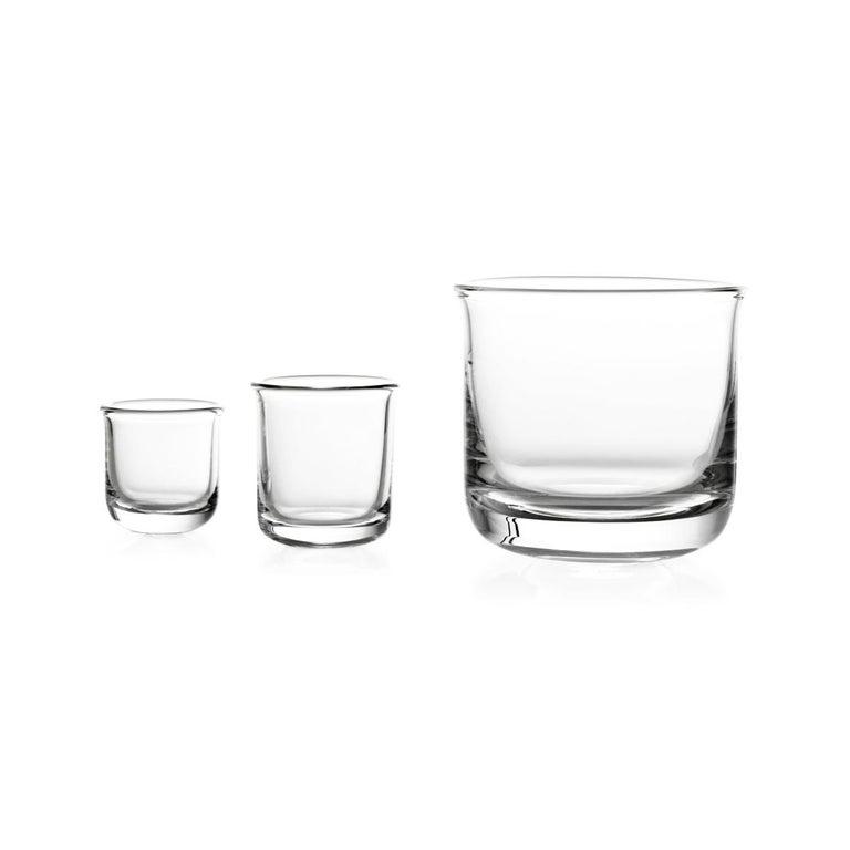 Italian Aldo Whisky Glass Designed by Aldo Cibic For Sale