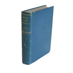 Aldous Huxley's Brave New World, First Edition 1932