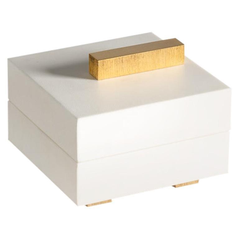 Aldus, Pan, Parchment Accessory Box, Italy, 2018