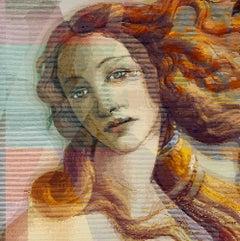 Venus Mint - 21st Century, Contemporary Art, Figurative, Heavy Acrylics
