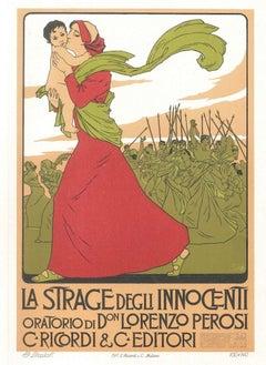 La Strage degli Innocenti- Vintage Advertising Lithograph by A. Terzi - 1900 ca.