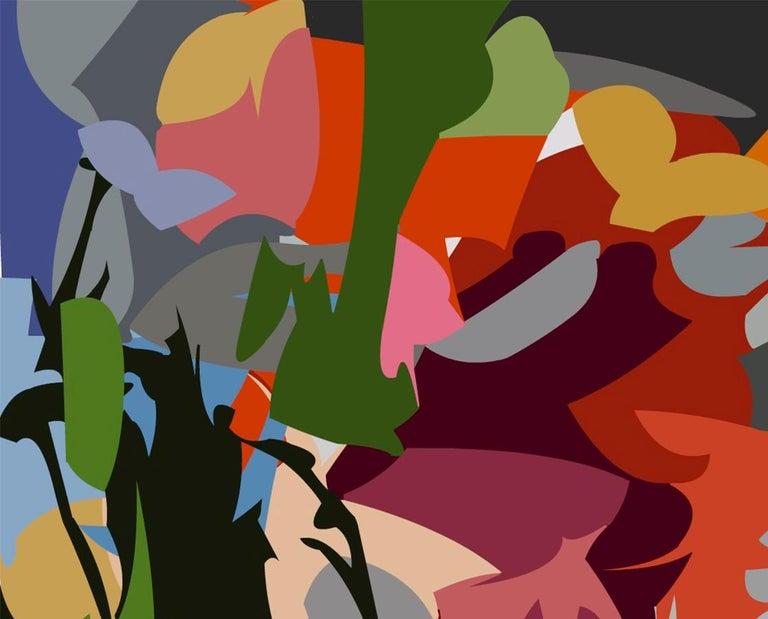 2107, Acrylic on Canvas  - Painting by Alejandra Quintanilla