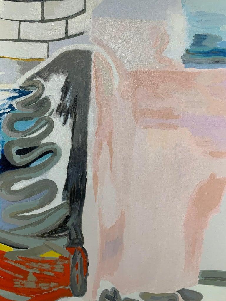 Untitled - Painting by Alejandra Seeber