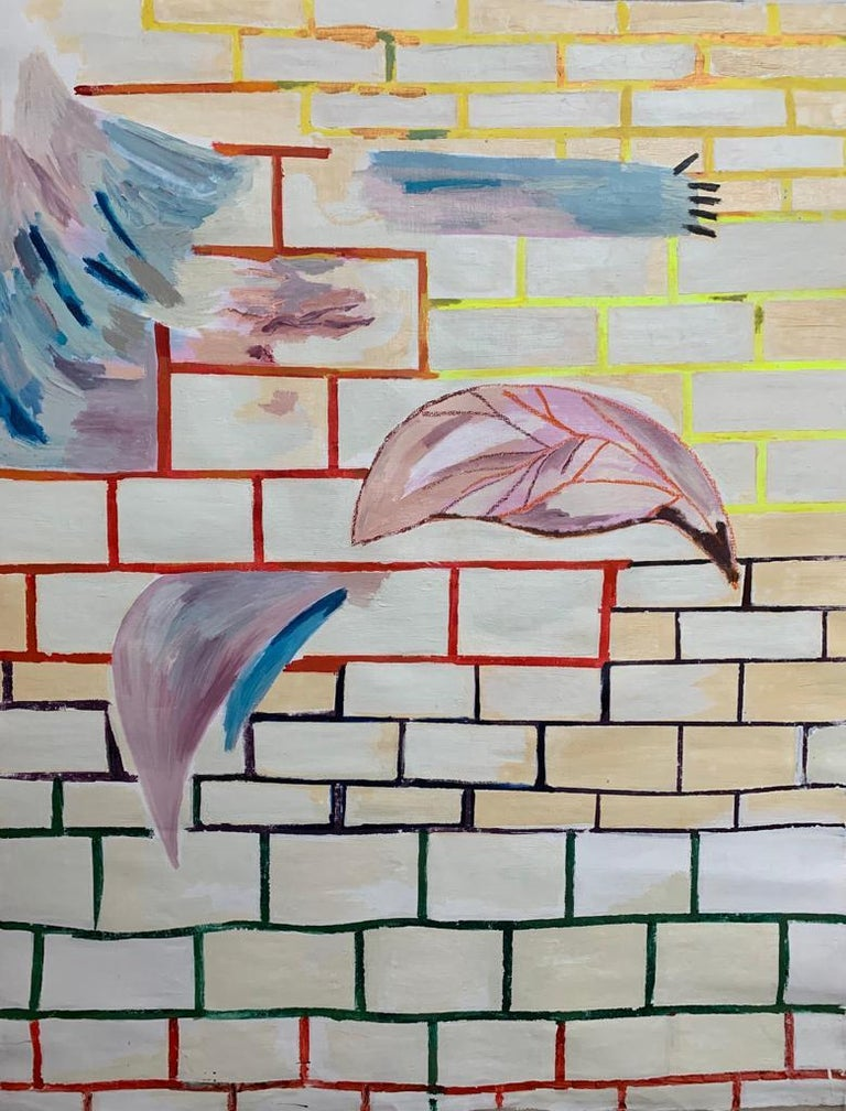 Alejandra Seeber Abstract Painting - Untitled