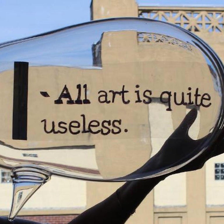 All Art is Quite Useless - Sculpture by Alejandra Seeber