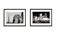 "I LOVE New York I"" and New Yorker"" (Award winning Black and white New York City)"
