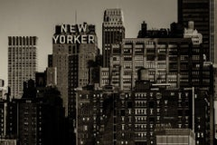New York City landscape photography - New Yorker - 24 x 36 in. acrylic facemount