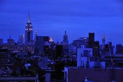 """New York Photo -  Rhapsody in Blue, 12x18""""- unframed"""
