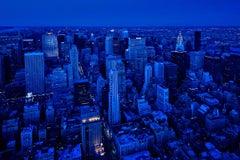 """New York Photo -  Rhapsody in Blue DAWN, 12x18""""- unframed"""