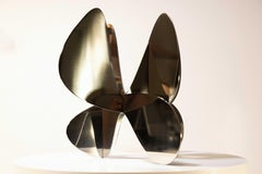 Barricada #7 aip S by A. Vega Beuvrin - abstract sculpture, organic forms