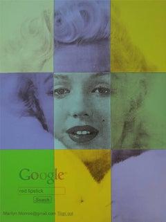 "Marilyn Monroe ""Red Lipstick"""