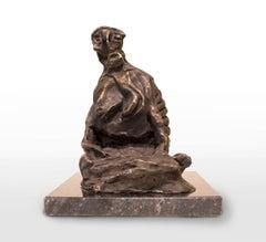 La Piedad del Zopilote, Bronze Sculpture
