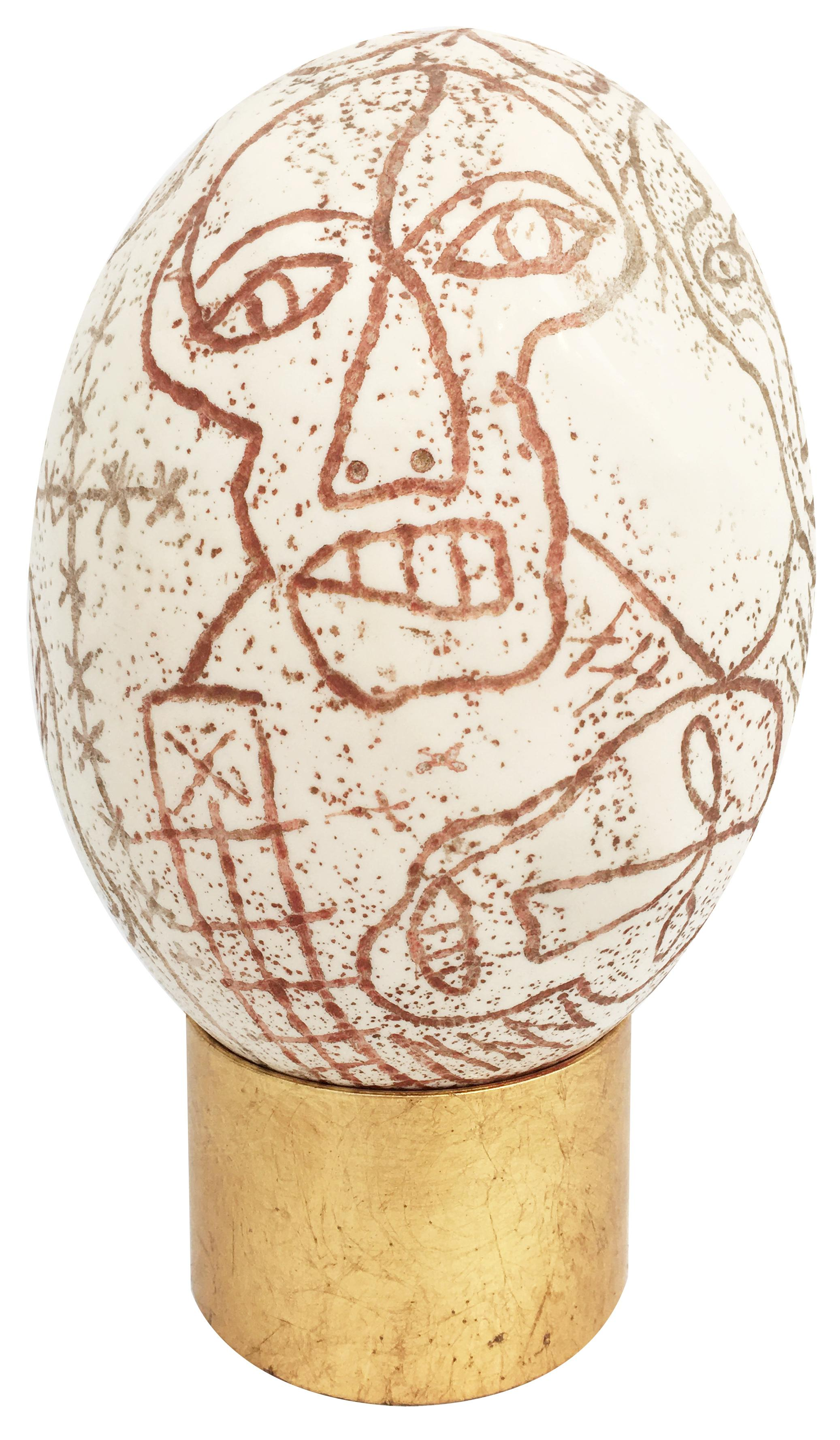Untitled (Ostrich Egg)