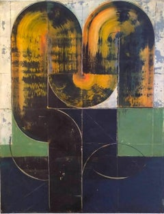 Nightrider2 - Abstract art, Geometric, Acrylic, Contemporary, Minimalistic art