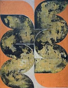 Untitled - Abstract art, Geometric, Acrylic, Contemporary art, Minimalistic art