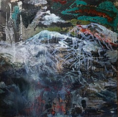 Devonian Devon  - Contemporary  Landscape Abstract Painting