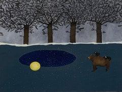 Fabric Animal Paintings