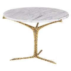 Alentejo Medium Coffee Table Brass Carrara, InsidherLand by Joana Santos Barbosa
