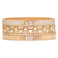 Alessa Cairo Unity Stack 18 Karat Rose Gold Unity Stacks Collection