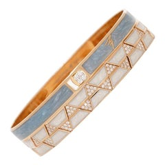 Alessa Capri Unity Stack 18 Karat Rose Gold Unity Stacks Collection
