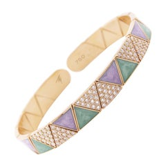 Alessa Duo Sonnet Bracelet 18 Karat Rose Gold Elixir Collection