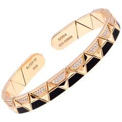 Alessa Evolve Lava Linear Bracelet 18 Karat Rose Gold