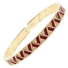 Alessa Fantasy Binary Bracelet 18 Karat Rose Gold Elixir Collection