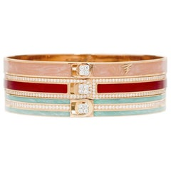 Alessa Madrid Unity Stack 18 Karat Rose Gold Unity Stacks Collection