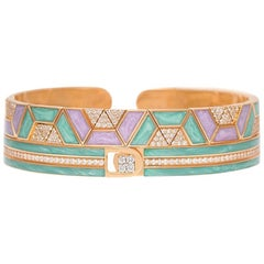 Alessa Mykonos Unity Stack 18 Karat Rose Gold Unity Stacks Collection