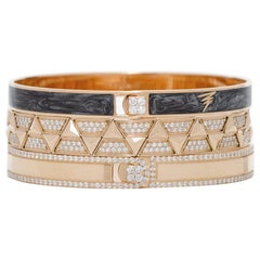 Alessa Paris Stack 18 Karat Rose Gold Unity Stacks Collection