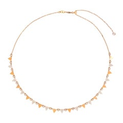 Alessa Rising Necklace 18 Karat Rose Gold  Eruption Collection