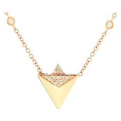 Alessa Rising Pendant 18 Karat Rose Gold Eruption Collection