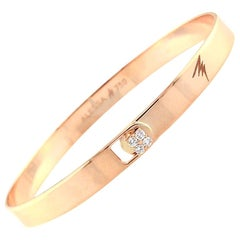 Alessa Solid Bracelet 18 Karat Rose Gold Spectrum Collection