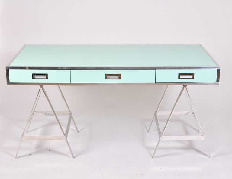 Alessandro Albrizzi Desk, circa 1970 In Good Condition For Sale In London, GB