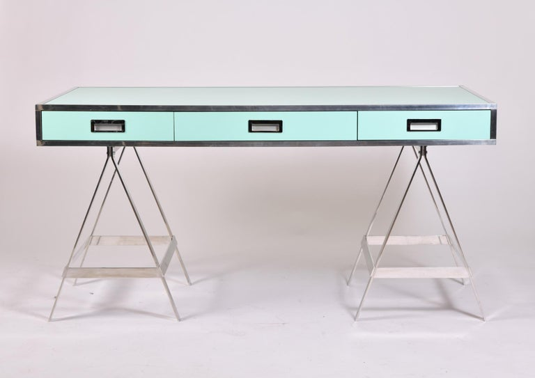 Late 20th Century Alessandro Albrizzi Desk, circa 1970 For Sale