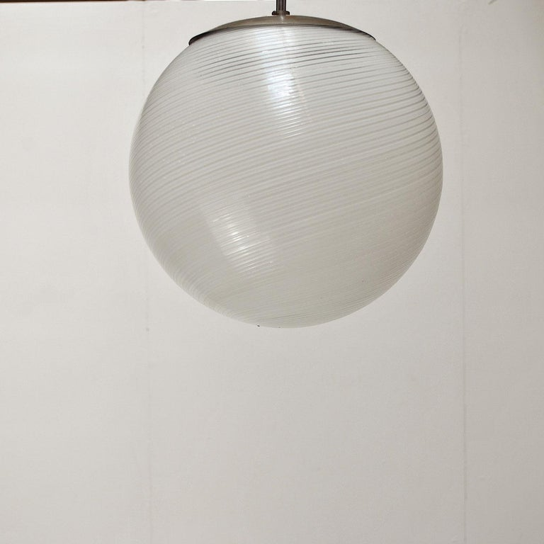 Alessandro Diaz de Santillana Chandelier for Venini, 1960s In Good Condition For Sale In bari, IT