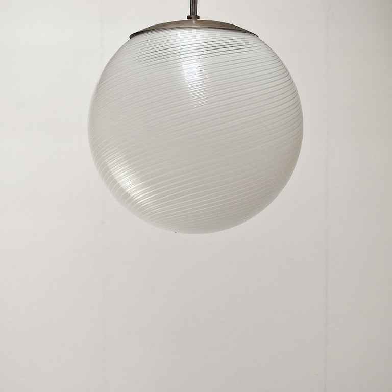 Mid-20th Century Alessandro Diaz de Santillana Chandelier for Venini, 1960s For Sale