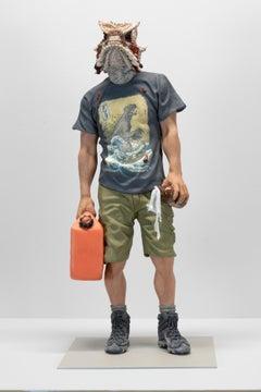 """I Will Not Burn Bridges"", Contemporary, Figurative, Ceramic, Sculpture"
