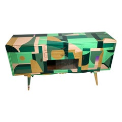 Alessandro Guerriero Credenzas for Collection Redesign Alchimia, Italy