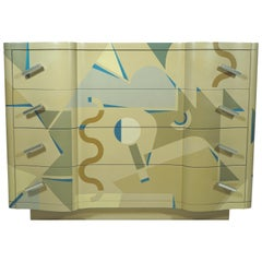Chest of Drawer Cetonia Model by Alessandro Mendini for Alchimia, Italy