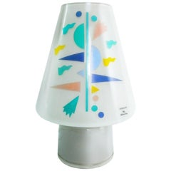 Alessandro Mendini for Artemide Sidecar Table Lamp Postmodern Murano Glass 1990s